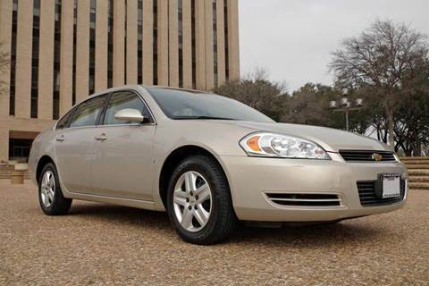2008 Chevrolet Impala for sale at European Motor Cars LTD in Fort Worth TX
