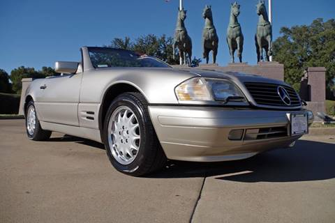 1997 Mercedes-Benz SL-Class for sale at European Motor Cars LTD in Fort Worth TX