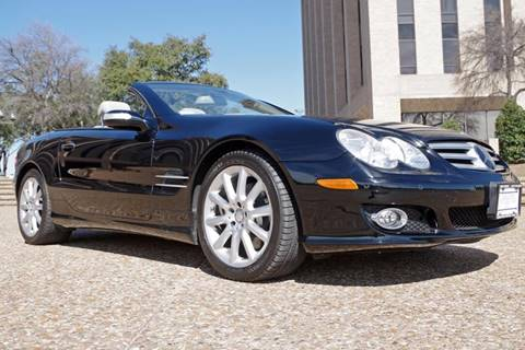 2008 Mercedes-Benz SL-Class for sale at European Motor Cars LTD in Fort Worth TX