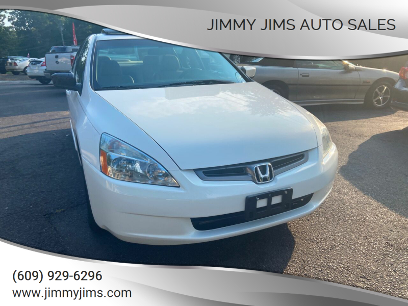 2005 Honda Accord for sale at Jimmy Jims Auto Sales in Tabernacle NJ
