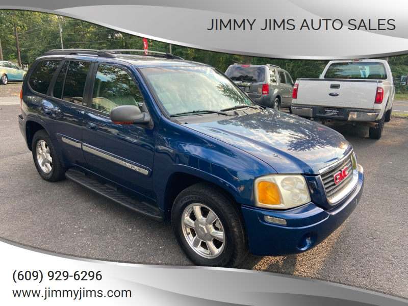 2003 GMC Envoy for sale at Jimmy Jims Auto Sales in Tabernacle NJ