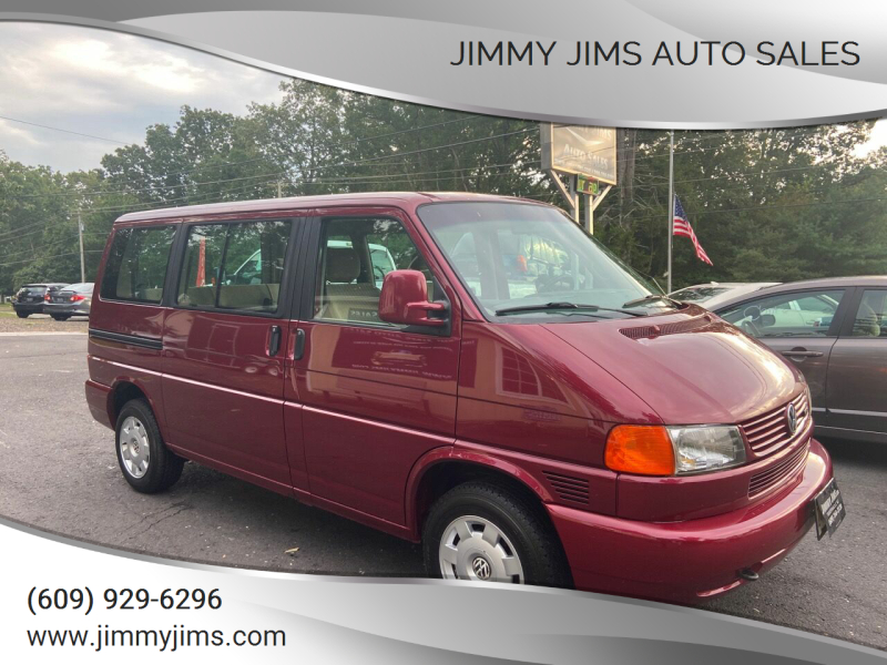 1999 Volkswagen EuroVan for sale at Jimmy Jims Auto Sales in Tabernacle NJ