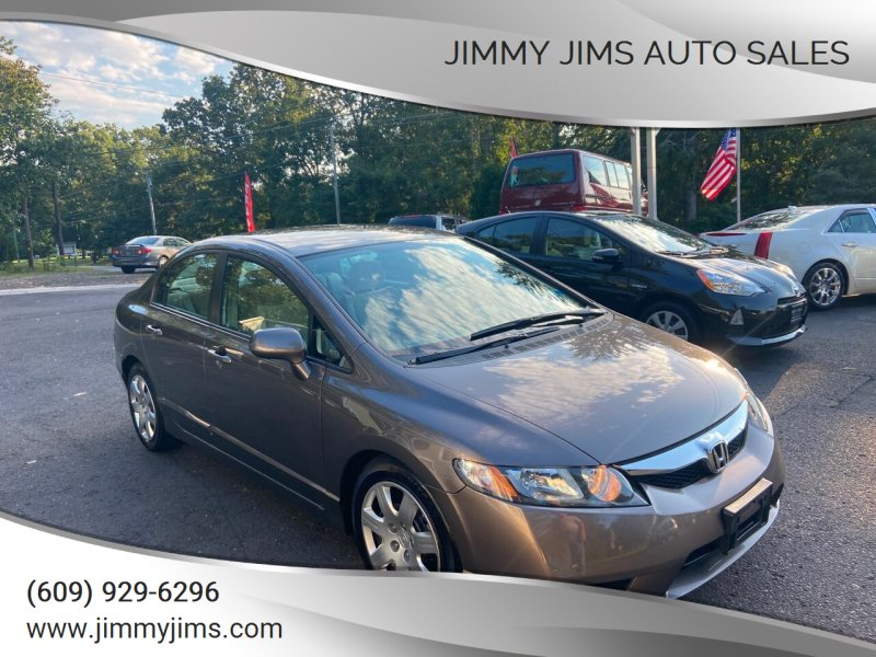 2009 Honda Civic for sale at Jimmy Jims Auto Sales in Tabernacle NJ