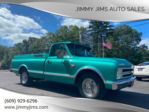 1967 Chevrolet C/K 20 Series for sale at Jimmy Jims Auto Sales in Tabernacle NJ