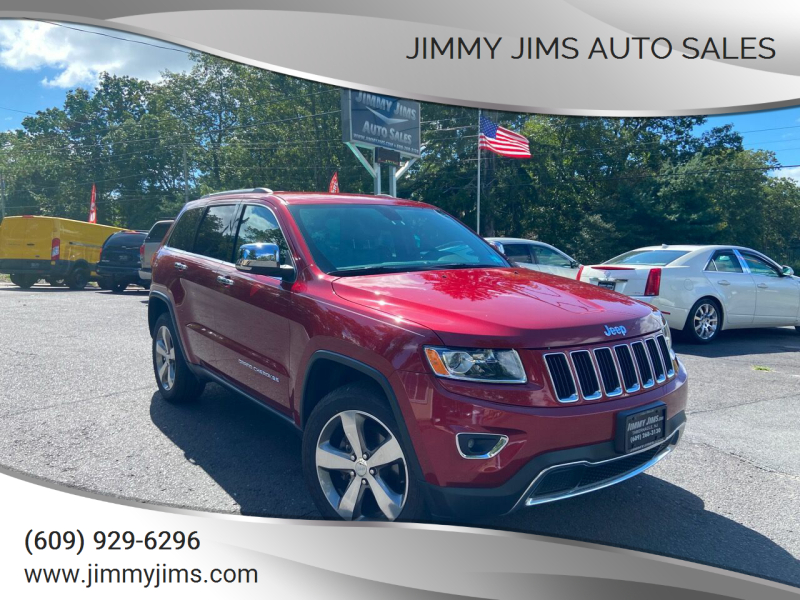 2015 Jeep Grand Cherokee for sale at Jimmy Jims Auto Sales in Tabernacle NJ
