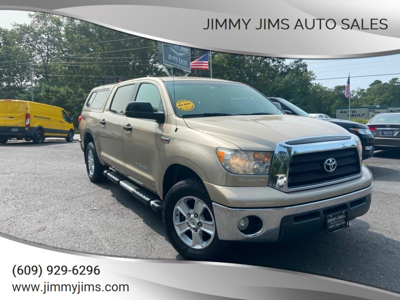 2008 Toyota Tundra for sale at Jimmy Jims Auto Sales in Tabernacle NJ