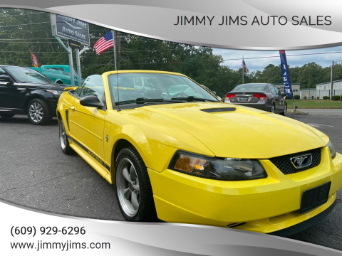 2002 Ford Mustang for sale at Jimmy Jims Auto Sales in Tabernacle NJ