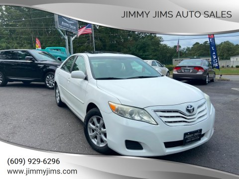2011 Toyota Camry for sale at Jimmy Jims Auto Sales in Tabernacle NJ