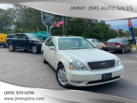 2003 Lexus LS 430 for sale at Jimmy Jims Auto Sales in Tabernacle NJ