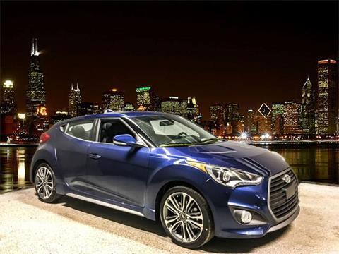 2017 Hyundai Veloster Turbo for sale in Chicago, IL