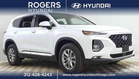 2020 Hyundai Santa Fe for sale at ROGERS  AUTO  GROUP in Chicago IL