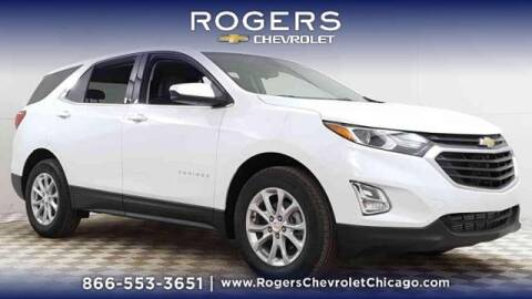 2020 Chevrolet Equinox for sale at ROGERS  AUTO  GROUP in Chicago IL