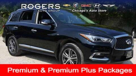 2017 Infiniti QX60 for sale at ROGERS  AUTO  GROUP in Chicago IL