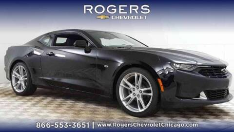 2021 Chevrolet Camaro for sale at ROGERS  AUTO  GROUP in Chicago IL