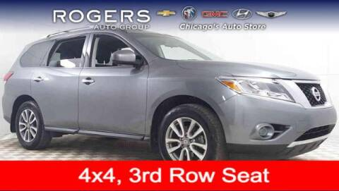 2016 Nissan Pathfinder for sale at ROGERS  AUTO  GROUP in Chicago IL