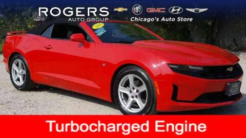 2019 Chevrolet Camaro for sale at ROGERS  AUTO  GROUP in Chicago IL