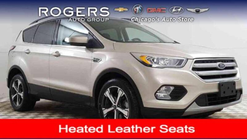 2018 Ford Escape for sale at ROGERS  AUTO  GROUP in Chicago IL