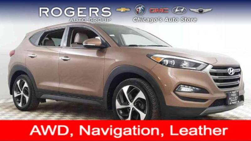 2016 Hyundai Tucson for sale at ROGERS  AUTO  GROUP in Chicago IL