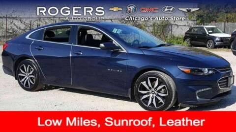 2017 Chevrolet Malibu for sale at ROGERS  AUTO  GROUP in Chicago IL