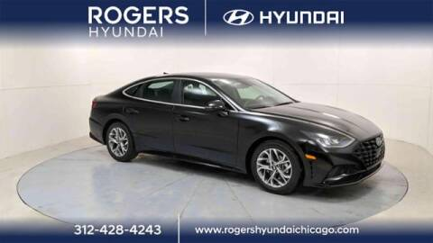 2021 Hyundai Sonata for sale at ROGERS  AUTO  GROUP in Chicago IL