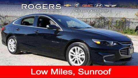 2016 Chevrolet Malibu for sale at ROGERS  AUTO  GROUP in Chicago IL