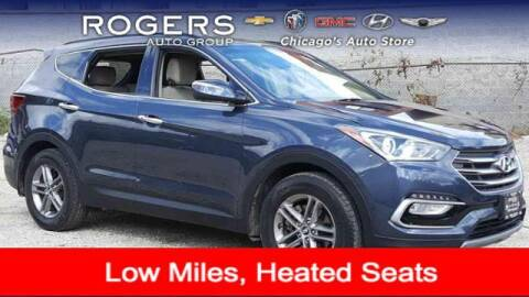 2018 Hyundai Santa Fe Sport for sale at ROGERS  AUTO  GROUP in Chicago IL