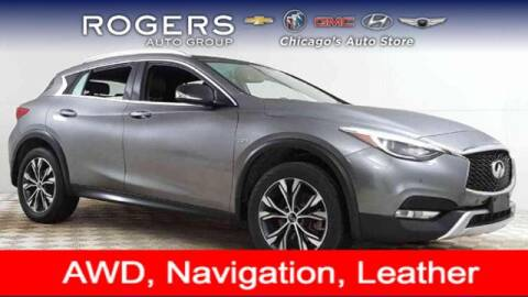 2017 Infiniti QX30 for sale at ROGERS  AUTO  GROUP in Chicago IL