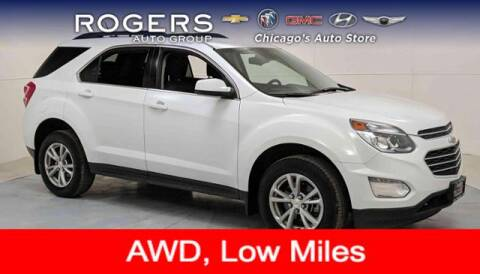 2017 Chevrolet Equinox for sale at ROGERS  AUTO  GROUP in Chicago IL