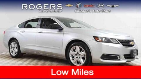 2017 Chevrolet Impala for sale at ROGERS  AUTO  GROUP in Chicago IL