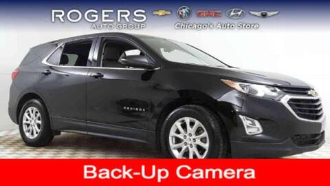 2019 Chevrolet Equinox for sale at ROGERS  AUTO  GROUP in Chicago IL