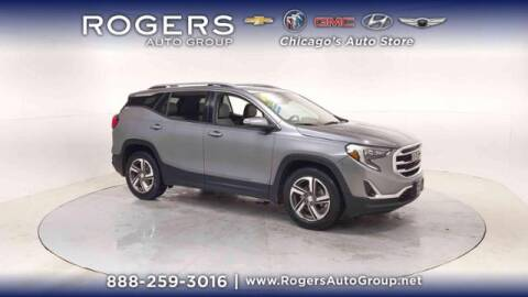 2018 GMC Terrain for sale at ROGERS  AUTO  GROUP in Chicago IL