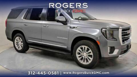 2021 GMC Yukon for sale at ROGERS  AUTO  GROUP in Chicago IL