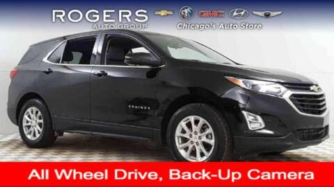 2018 Chevrolet Equinox for sale at ROGERS  AUTO  GROUP in Chicago IL