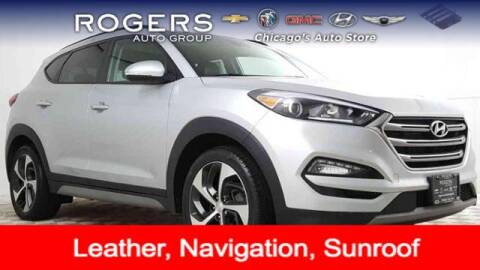 2017 Hyundai Tucson for sale at ROGERS  AUTO  GROUP in Chicago IL