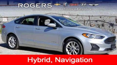 2019 Ford Fusion Hybrid for sale at ROGERS  AUTO  GROUP in Chicago IL