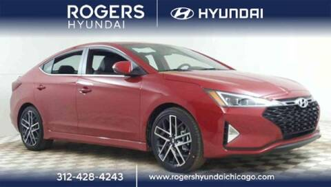 2020 Hyundai Elantra for sale at ROGERS  AUTO  GROUP in Chicago IL