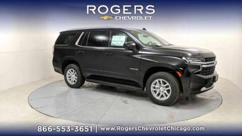 2021 Chevrolet Tahoe for sale at ROGERS  AUTO  GROUP in Chicago IL