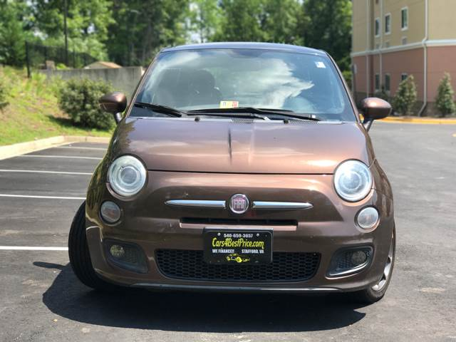 2012 FIAT 500 for sale at CARS 4 BEST in Stafford VA