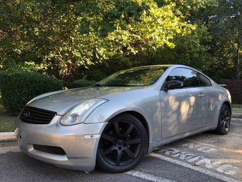 2004 Infiniti G35 for sale in Stafford, VA