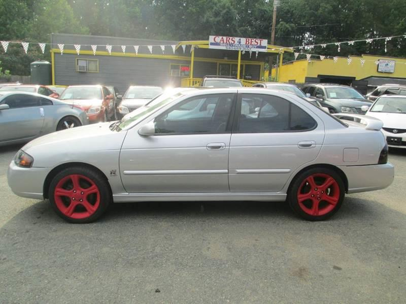 2005 Nissan Sentra for sale at CARS 4 BEST in Stafford VA
