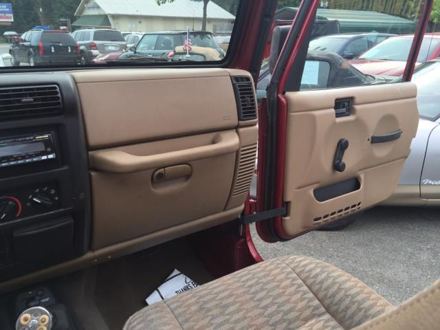 1999 Jeep Wrangler for sale at CARS 4 BEST in Stafford VA