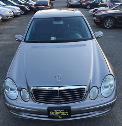 2005 Mercedes-Benz E-Class for sale at CARS 4 BEST in Stafford VA