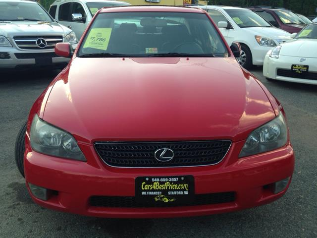 2005 Lexus IS 300 for sale at CARS 4 BEST in Stafford VA
