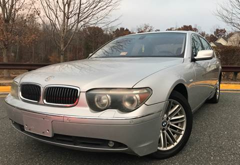 2004 BMW 7 Series for sale at CARS 4 BEST in Stafford VA