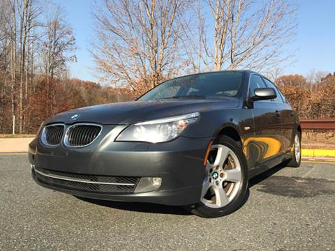 2008 BMW 5 Series for sale at CARS 4 BEST in Stafford VA