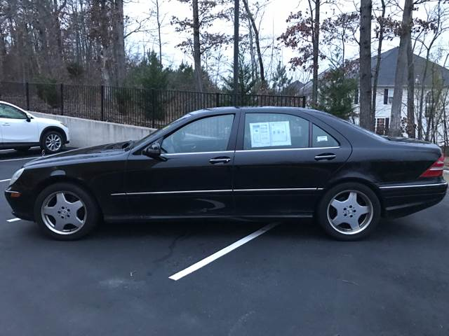 2002 Mercedes-Benz S-Class for sale at CARS 4 BEST in Stafford VA