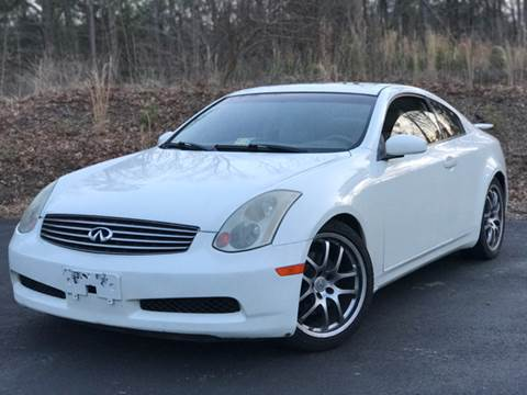 2005 Infiniti G35 for sale at CARS 4 BEST in Stafford VA