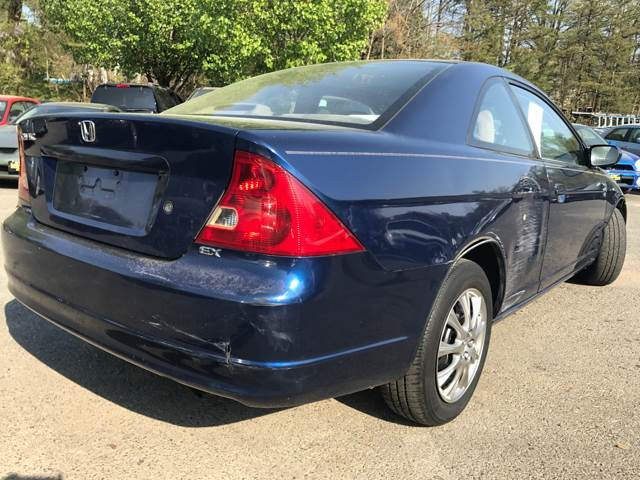 2001 Honda Civic for sale at CARS 4 BEST in Stafford VA