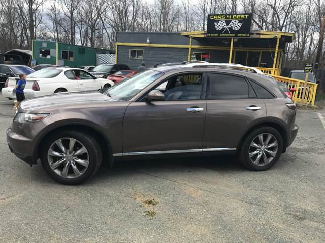 2008 Infiniti FX35 for sale at CARS 4 BEST in Stafford VA