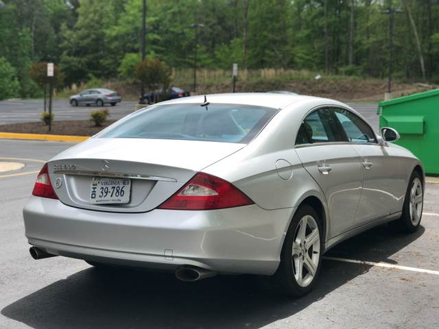 2006 Mercedes-Benz CLS for sale at CARS 4 BEST in Stafford VA